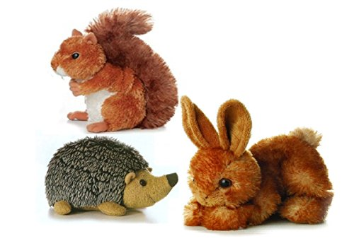 Aurora Plush Furry Forest Friends Bundle