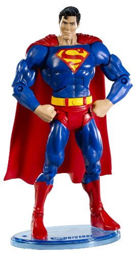 (DC Universe Classic Superman Figure with Collector Button)