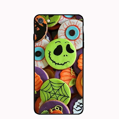Phone 7 and Phone 8 Case,Personalized Halloween Food Cookie Floral Print PC Cellphone case]()
