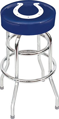 Imperial Officially Licensed NFL Furniture: Swivel Seat Bar Stool, Indianapolis (Bar Stools Indianapolis)