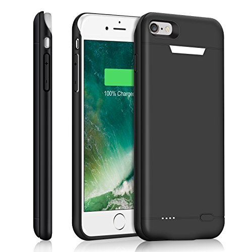 iPhone 6S Plus Battery condition | iPhone 6 Plus Battery Case, YISHDA 4200mAh Ultra-Slim Extended Battery Rechargeable Protective External portable Charging condition for iPhone 6 Plus / 6S Plus 5.5inch (Black)