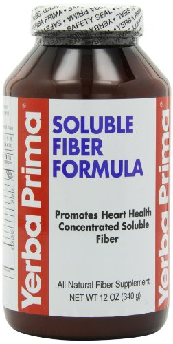 Yerba Prima Soluble Fiber Formula Powder, 12-Ounce