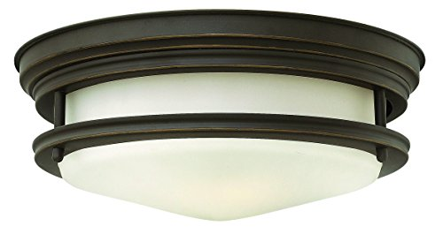 Hinkley 3302OZ Restoration Two Light Flush Mount from Hadley collection in (Restoration Flushes Collection)