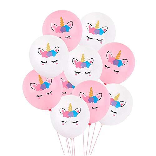Pink Latex Unicorn Baloon Unicorn Party Decoration Unicorn Kids Favors,9]()