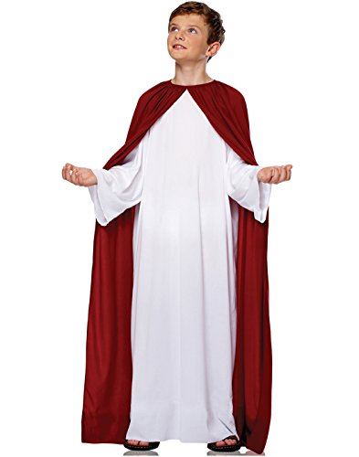 Francoamerican Novelty Company Deluxe Jesus Costume Child-Multicoloured-L - Jesus Child Costumes
