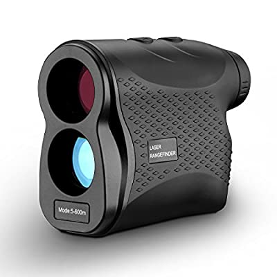 DEKOPRO Laser Rangefinder for Hunting and Golf with Pinsensor - Laser Range Finder with Fog , Scan, Speed Measurement, Free Battery by DEKOPRO
