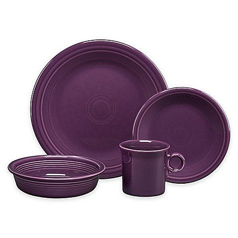 Fiesta 4-Piece Place Setting in Mulberry