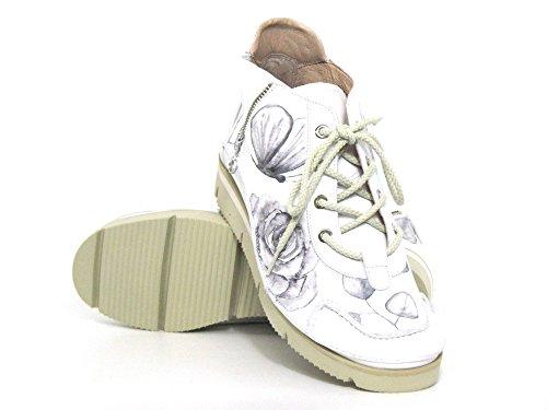 45 Cordones wei 04A kombi Kombi Mujeres Wei con Zapatos Softwaves 4 Blanco wxTCA1aq
