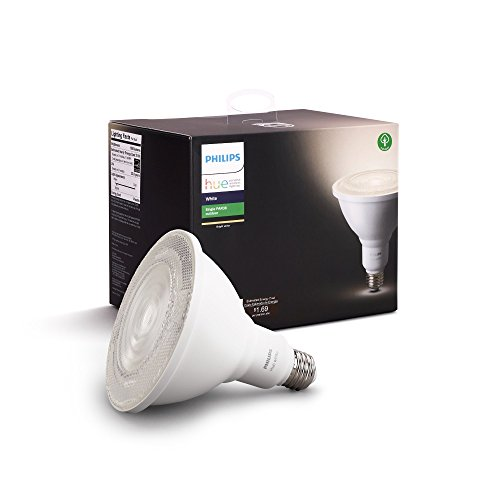 Philips Outdoor Hue White PAR-38 Smart LED Bulb (476812) White – New