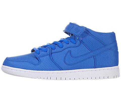 Nike Dunk Mid Pro SB - Photo Blue / Photo Blue-White, 12 D US