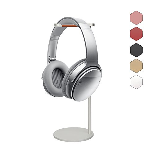 41he%2Bd4NzFL - Headphone-Stand-Rack-Desktop-Aluminum-Game-Headset-Holder-for-Bose-Beats-Sony-Sennheiser-Philips-Skull-Candy-Plantronics-JVC-Gaming-DJ-Universal-Headphone-Display-Stand-Silver