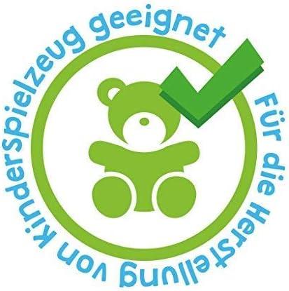 kullaloo SuperSoft SHORTY 100/% polyester Super fluffy plush // cuddle fabric 1,5mm pile EN71-3 /& EN71-9 tested