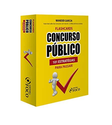 Flashcards Concurso Público: 101 Estratégias Para Passar - 1ª - 2020