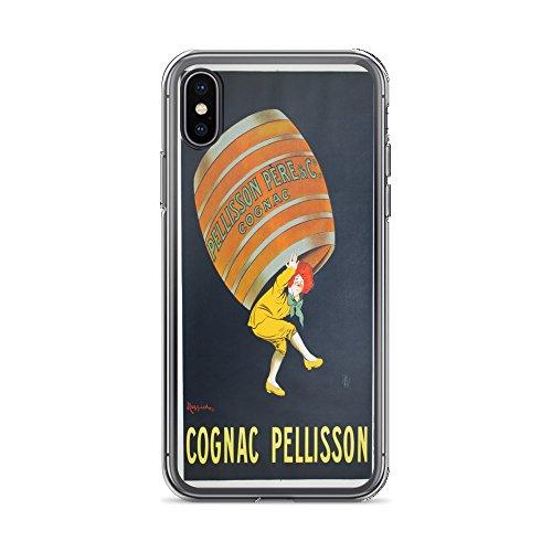Vintage Poster - Cognac Pellisson 0428 - iPhone Xs Max Phone Case