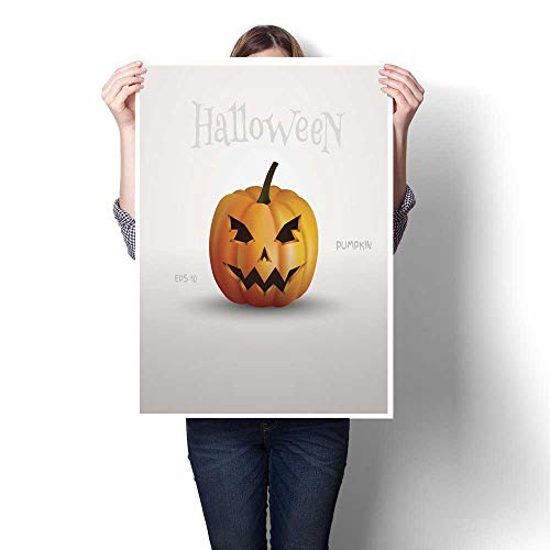 Living Room Home Office Decorations Halloween Pumpkin with