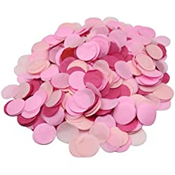 Pink Paper Table Confetti, 2800 Pieces