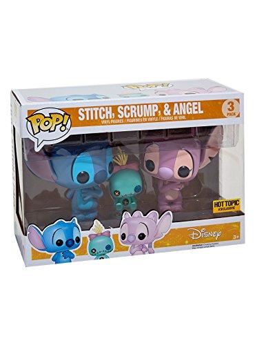 Funko POP Disney:Lilo & Stitch 3 Pack Stitch,Scrump & Angel