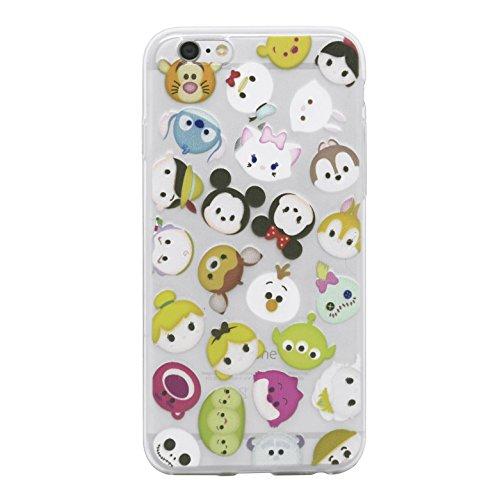 """iProtect Housse de protection Soft Case en silicone - housse de gel Cartoon héros d'enfance - Apple iPhone 6 (4,7"""")"""