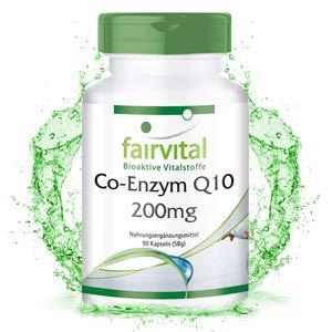 Co-Enzima Q10 cápsulas 200mg - VEGANO - Altamente dosificado - 90 ...