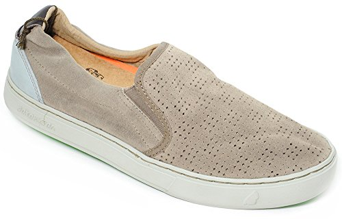 Satorisan Chaussures Slip On Homme Art Soumei Beige. 161007 Gravel