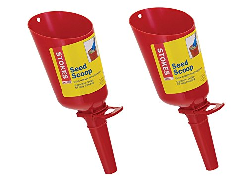 Stokes (2 Pack) Seed Scoops, 4-Cup Scoops