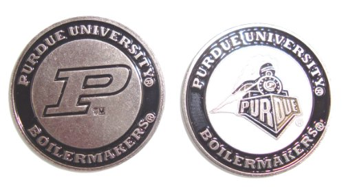 Purdue Boilermakers Double Sided Golf Ball Marker