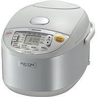 Zojirushi NS-YAC10 Umami Micom Rice Cooker and Warmer (Pearl White)