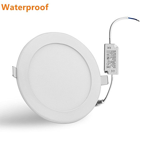 Bathroom ceiling light fixture amazon 80w incandescent equivalent cut hole 61 inch day white led recessed lighting with waterproof led driver fit for bathroom ceiling light fixture aloadofball Choice Image