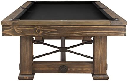 Playcraft Rio Grande 8 Slate Pool Table, Weathered Bark