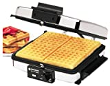 Black & Decker Grill & Wafflebaker 900 W Chrome