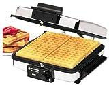 Black & Decker Grill & Wafflebaker 900 W Chrome