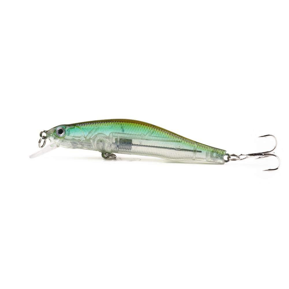 Diuspeed Angel Lure, Pesca Arricia Esca Minnow manovella 90mm 8,3G magnetica SISTEMA 2Ganci, g