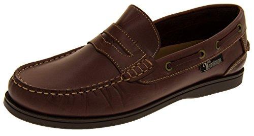Cuir Hommes Mocassin Bateau Chaussures Séquoia 72015 Footwear Studio Helmsman t0vcq7