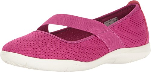 Crocs Women's Swiftwater W Flat, Vibrant Violet/White, 7 M US