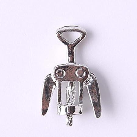 Desconocido 3pcs Casa de Muñecas en Miniatura Vino del Metal Abrebotellas Sacacorchos 1/12 Cocina