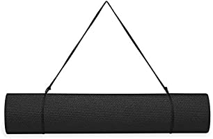 Gaiam Essentials Premium Yoga Mat with Yoga Mat Carrier Sling (72