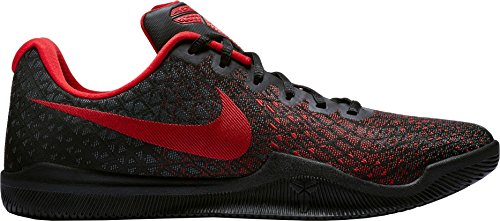 Nike Mens Kobe Mamba Instinct Basketball Shoes (8, Black/University Red-M)