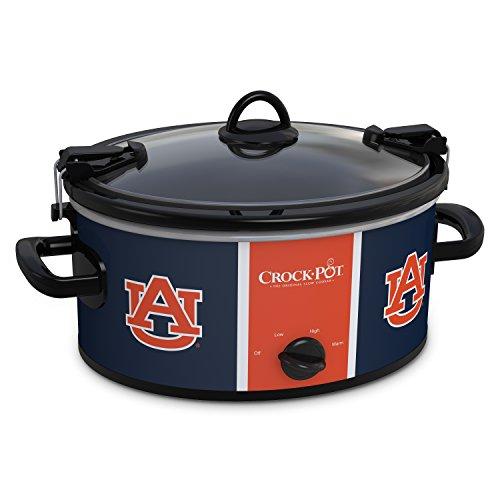 Crock-Pot Auburn Tigers Collegiate 6-Quart Cook & Carry Slow Cooker