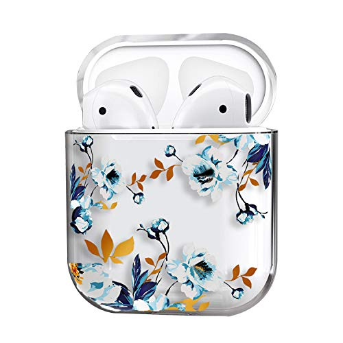 AirPods Case,Cute Clear Smooth TPU [No Dust] Shockproof Cover Case for Apple Airpods 2 &1,Kawaii Fun Cases for Girls Kids Teens Air pods ()