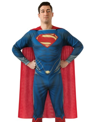 Rubie's Costume Man Of Steel Adult Complete Superman, Blue/Red, Large