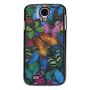 Nsaneoo - 3D Effect Colorful Butterfly Pattern Durable Hard Case for Samsung Galaxy S4 I9500