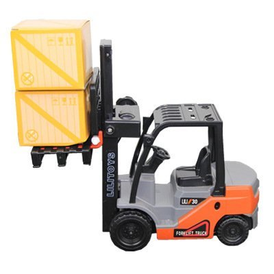 Toyota Level (Big-Daddy Light Duty Work Trucks Series Toyota Authentic ForkLift With Load Included, Imagination Taken To The Next Level)