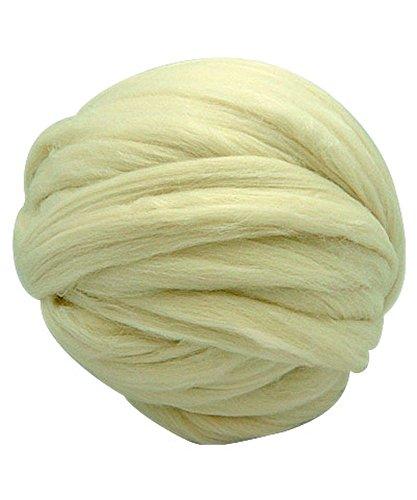 4 oz Ecru Merino Tussah Silk Blend 80/20