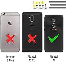 Funnytech® Funda Silicona para Alcatel A7 [Gel Silicona Flexible, Diseño Exclusivo] Media Langosta Fondo Naranja: Amazon.es: Electrónica