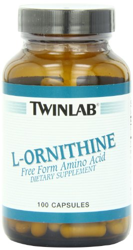 Twinlab L-Ornithine 500mg, 100 Capsules