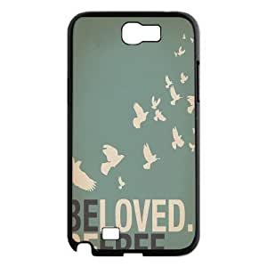Be Free Brand New Cover Case for Samsung Galaxy Note 2 N7100,diy case cover ygtg580332