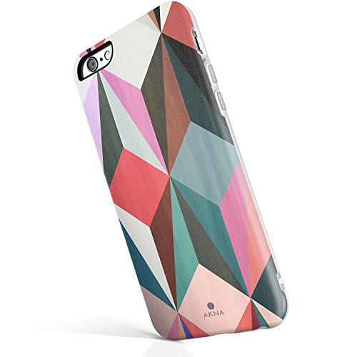 iPhone 6/6s case for Girls, Akna Get-It-Now Collection High Impact Flexible Silicon Case for Both iPhone 6 & iPhone 6s [Colorful Cube](213-U.S) (Colorful Iphone 6plus Cases)