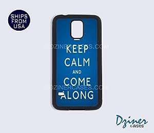 Galaxy S4 Case - Keep Calm Come Along