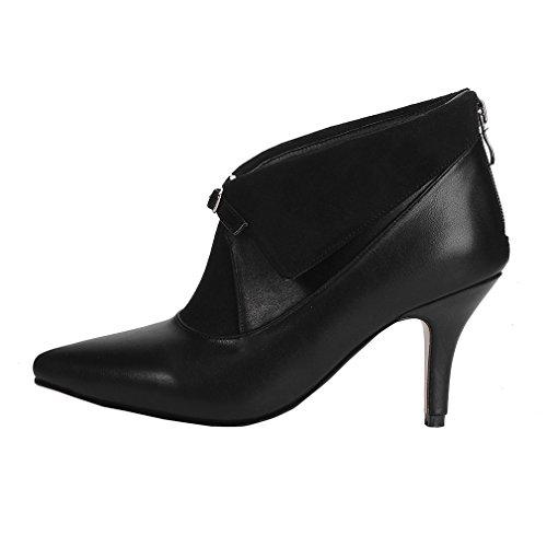 de 08 Para 04 vestido 1 ENMAYERWL 1 botas 2017 mujer Negro xYS5qw4C
