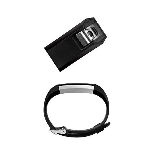 Fitbit Alta Band, BeneStellar Silicone Replacement Band for Fitbit Alta HR and Alta Band With Metal Clasp (Classic)